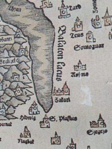 XVi szd térkép